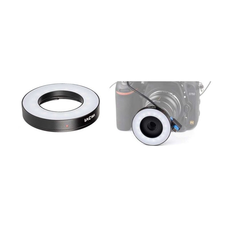 Eclairage continu LED annulaire pour 25mm