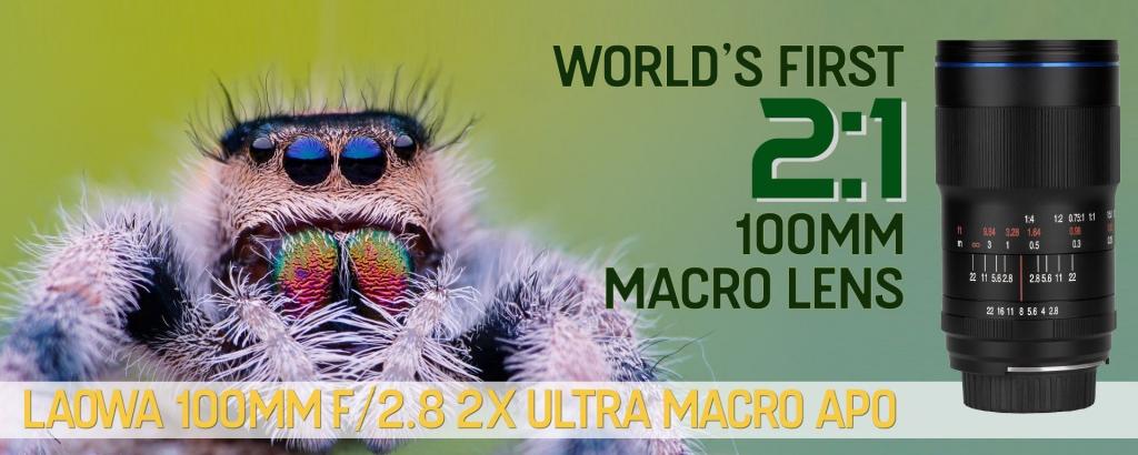 Laowa 100mm F2.8 2x Ultra-Macro