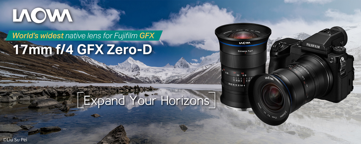 17mm F4 Ultra-Grand Angle GFX Zero-D